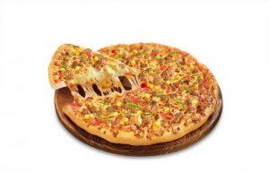 Bánh pizza nhân thịt