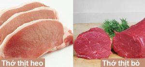 cách phân biệt thịt bò thật với thịt bò giả